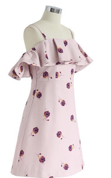 Chicwish - Vestiti corti per DONNA online su Kate&You - D190516019 K&Y7496