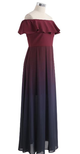 Chicwish - Vestiti lunghi per DONNA online su Kate&You - D190402021 K&Y7472