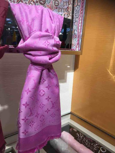 Louis Vuitton - Scarves - Châle monogram for WOMEN online on Kate&You - M733666 K&Y1558