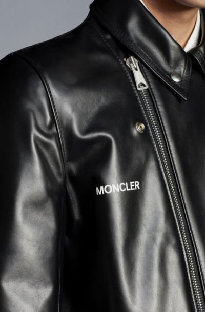 Moncler - Leather Jackets - Dwayne cyclone for MEN online on Kate&You - G209U1A000225099H K&Y11291