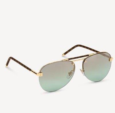 Louis Vuitton Солнцезащитные очки CLOCKWISE Kate&You-ID10995