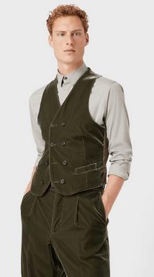 Giorgio Armani - Waistcoats & Gilets - for MEN online on Kate&You - 0WGGK01TT00251U709 K&Y9469
