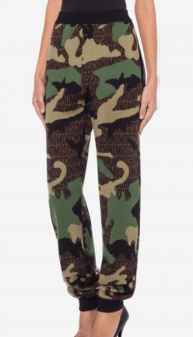 Прямые брюки - Moschino для ЖЕНЩИН онлайн на Kate&You - 202E A038155021888 - K&Y10001