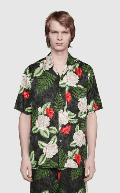 Gucci - Chemises pour HOMME online sur Kate&You - 624524 ZAEMQ 1030 K&Y8184