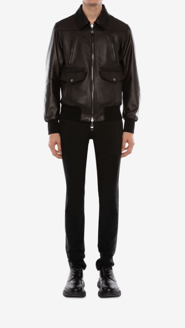 Alexander McQueen - Leather Jackets - for MEN online on Kate&You - 603442Q5HSG1053 K&Y7728