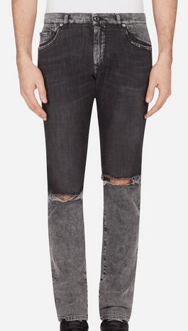 Узкие джинсы - Dolce & Gabbana для МУЖЧИН онлайн на Kate&You - - K&Y9158
