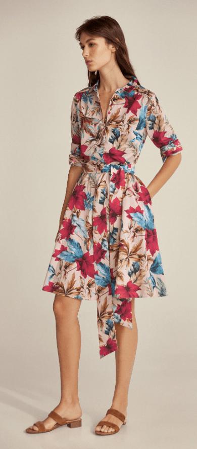 Cortefiel - Robes Mi-longues pour FEMME online sur Kate&You - 3817733 K&Y7199