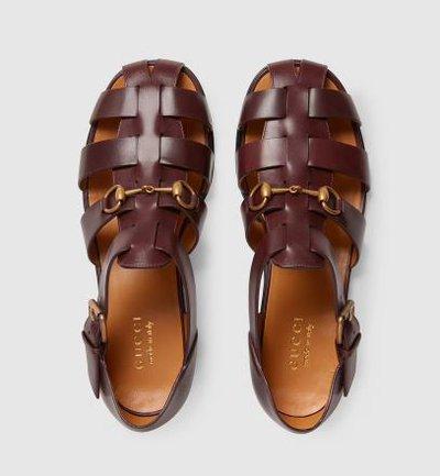Gucci - Sandals - for MEN online on Kate&You - 657488 UCR00 1000 K&Y11570