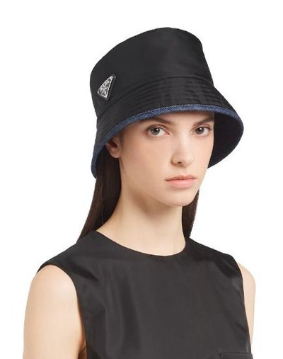 Prada - Hats - for WOMEN online on Kate&You - 1HC137_2DMW_F0D9M K&Y10858