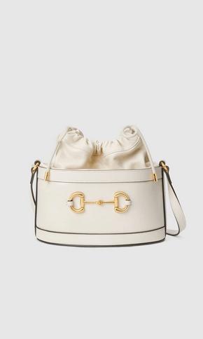 Gucci Shoulder Bags Sac seau détail Gucci Horsebit 1955 Kate&You-ID8369