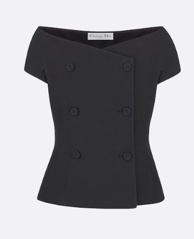 Dior Fitted Jackets OFF-THE-SHOULDER Kate&You-ID11198