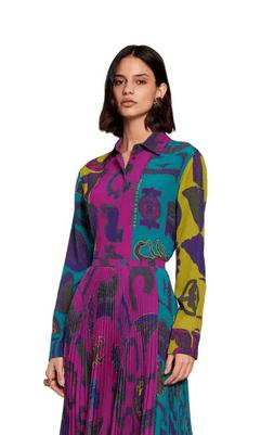 Рубашки - Roberto Cavalli для ЖЕНЩИН онлайн на Kate&You - LQT644SQA0109000 - K&Y9295