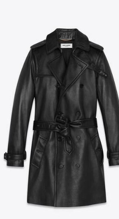 Yves Saint Laurent - Leather Jackets - for WOMEN online on Kate&You - 536742YC2QO1000 K&Y11682