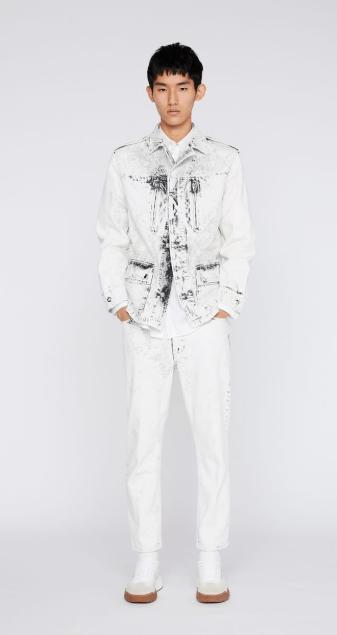 Stella McCartney - Pantaloni slim per UOMO online su Kate&You - 470648SON509116 K&Y7294