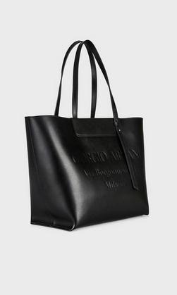Giorgio Armani - Borse tote per DONNA Sac cabas en cuir avec logo estampillé ton sur ton online su Kate&You - Y1D133YEC9A184389 K&Y8362