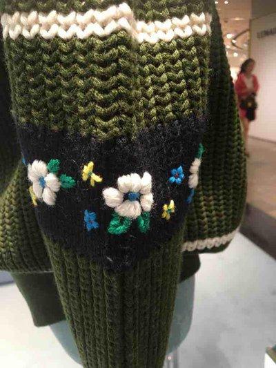 Miu Miu - Sweaters - Pull en laine avec volants for WOMEN online on Kate&You - MML243_1UFC_F0161 K&Y1520