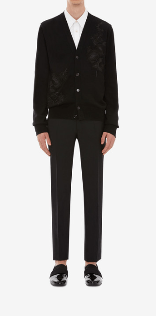 Alexander McQueen - Cardigans pour HOMME online sur Kate&You - 603244Q1WYE1053 K&Y7769