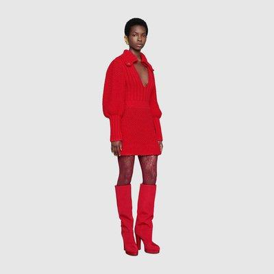 Gucci - Robes Courtes pour FEMME 591384 XKAY4 6460 online sur Kate&You - K&Y1856