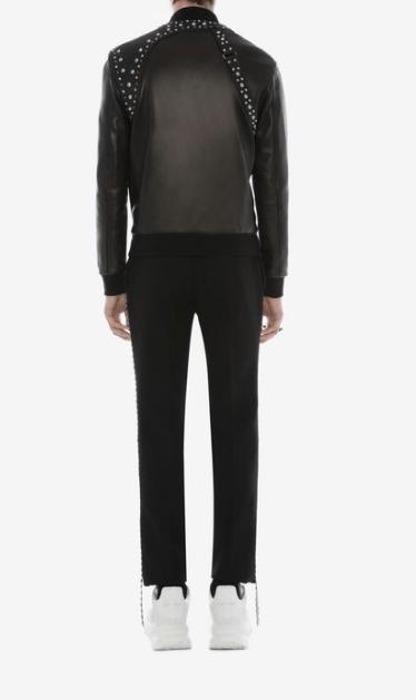 Alexander McQueen - Vestes en Cuir pour HOMME online sur Kate&You - 576093Q5HRM1000 K&Y7730